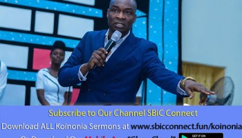 Download Understanding The Anointing Pt 2 Podcast Koinonia with Apostle Joshua Selman Nimmak