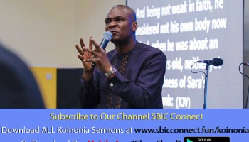 Download The Mystery of Speaking in Tongues Podcast Koinonia with Apostle Joshua Selman Nimmak