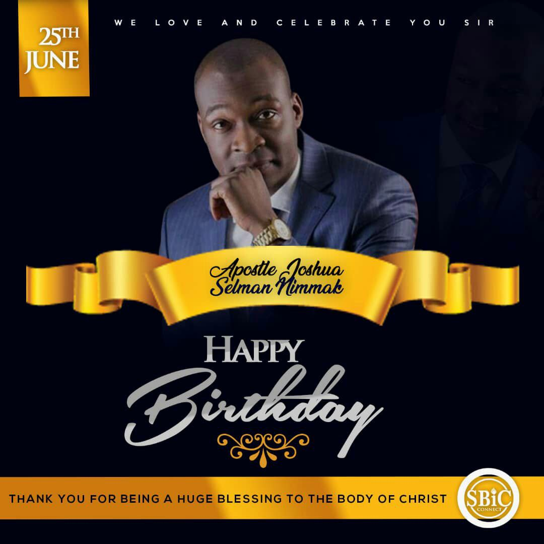 [2019 Birthday]How I Met Apostle Joshua Selman and His Messages That Blessed Me From Around The World-Batch Three