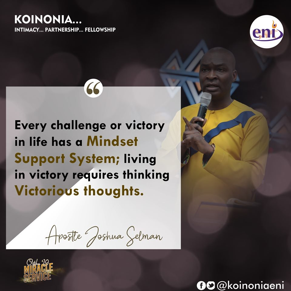 October 2019 Miracle Service Koinonia with Apostle Joshua Selman Nimmak