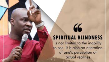 Spiritual Blindness Koinonia with Apostle Joshua Selman Nimmak
