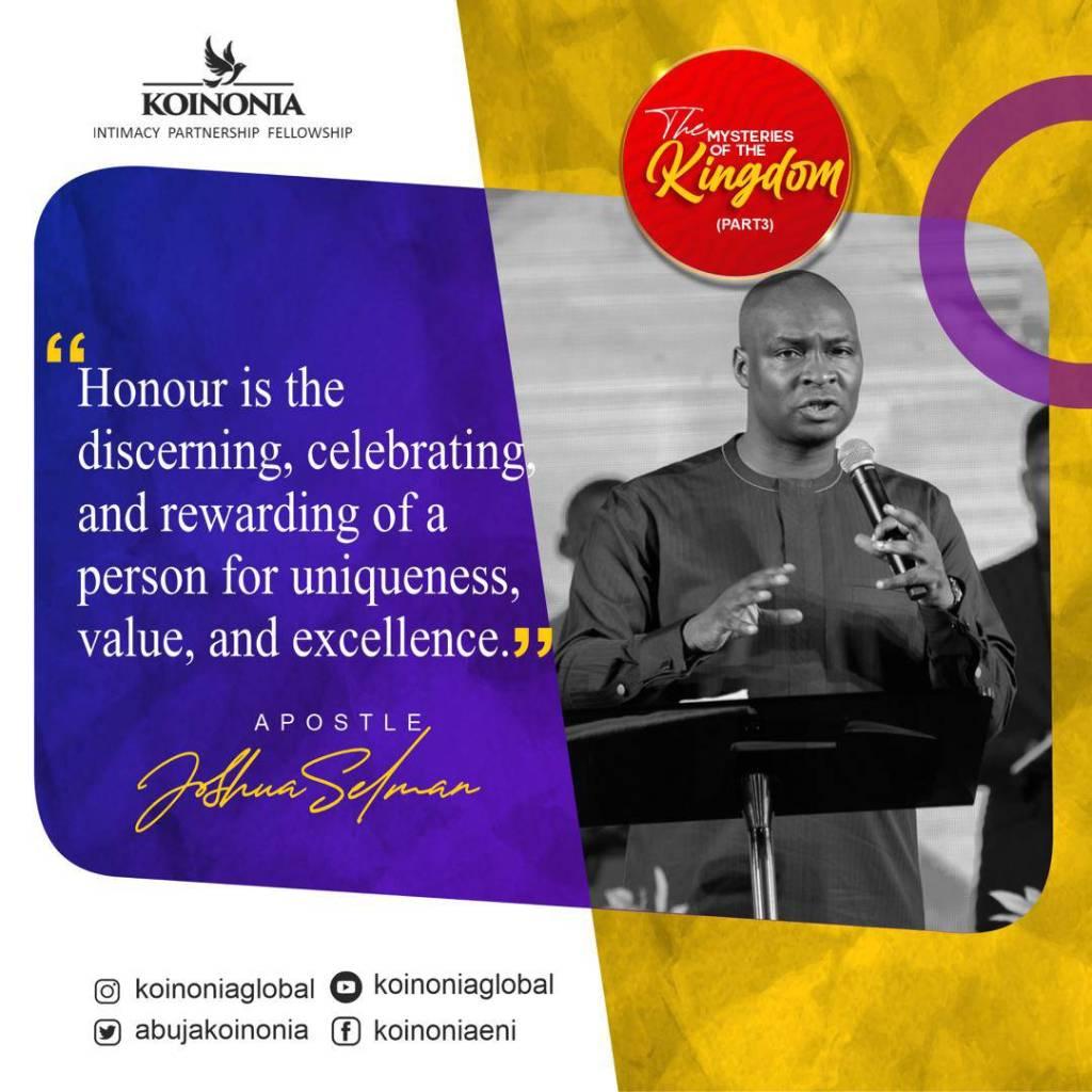 Download The Mysteries of The Kingdom Part Three Koinonia Abuja with Apostle Joshua Selman