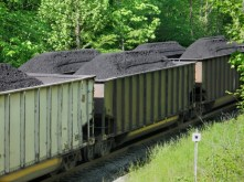 coal-rail-car theft. The block nation's freight railroads continue to report drops in coal shipments