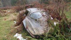 Flared 1963 Corvette split-window field car. Made of fiber-glass...will NEVER rust What a find