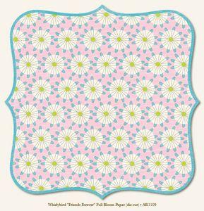 Friends Forever Full Bloom 12x12 Paper - My Mind's Eye