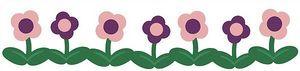 Flowers Border Cookie Cutter Die by QuicKutz