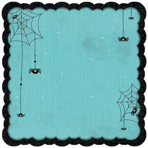 Whoo-ligans Spooky Die Cut Paper by Bo Bunny