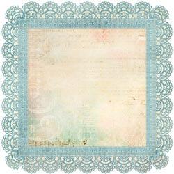 Memories Die-cut Paper - Sweet Nothings By Kaiser Craft