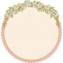 Fabulous Die-cut Paper - Lil Primrose By Kaiser Craft