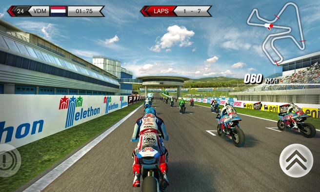 SBK15 Mobile Game Tracks