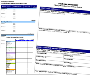 Small Business Marketing Tools Releases Free Annual Marketing Plan - Marketing plan for small business template