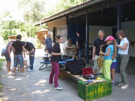 Instrumente Ausprobieren - 13.08.2012
