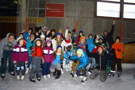 Jugendaktion Eislaufen