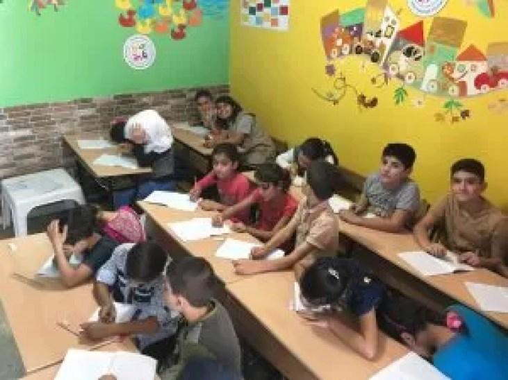 kids in class