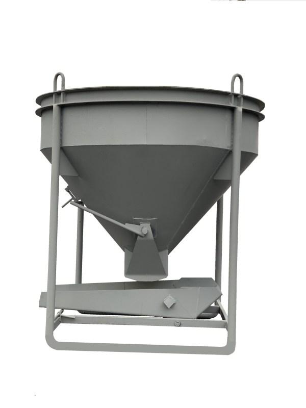 Бадья для бетона Бункер для бетона / бадья для бетона БН-1,5 (1,5м3, 270кг, лоток)