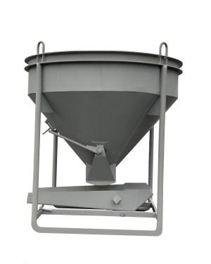 Бункер для бетона / бадья для бетона БН-1,5 (1,5м3, 270кг, лоток)