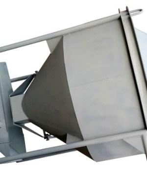 Бункер для бетона / бадья для бетона БН-2,0 (2м3, 350кг, лоток)