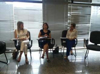 Daniela Landim, Mariana Lima de Abreu, Cláudia Freitas