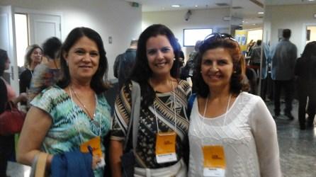 Sandra Tavares (Candidata SPMG), Rossana Nicoliello Pinho (SPMG), Cristina Dias (SPMG)