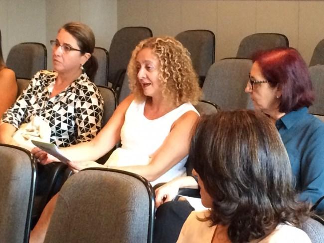 Comentário da plateia: Eliane de Andrade (membro efetivo e analista didata da SPMG)