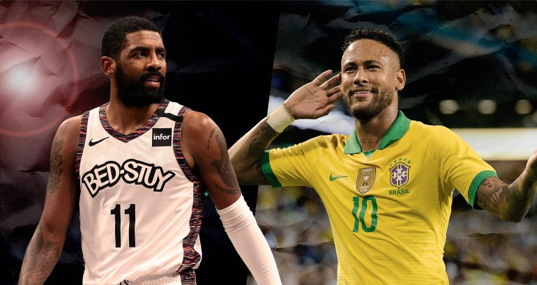Kyrie Irving is the Neymar of basketball