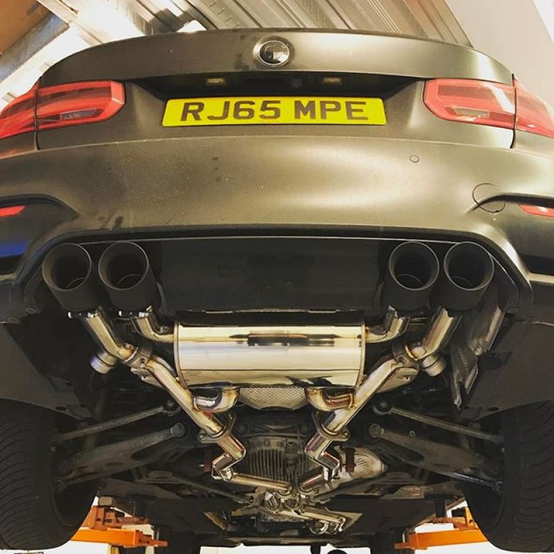 Armytrix going on Paul's car today.... #m #m3 #armytrix #decat #stainlesssteel @wallacepjw @armytrix_weaponized