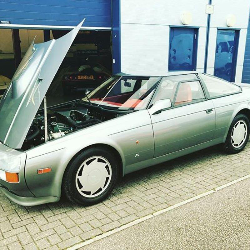 Aston Martin Zagato #sbraceengineering #v8 #astonmartin #zagato #7litre #80s #englishmuscle #iso #rivolta #classics
