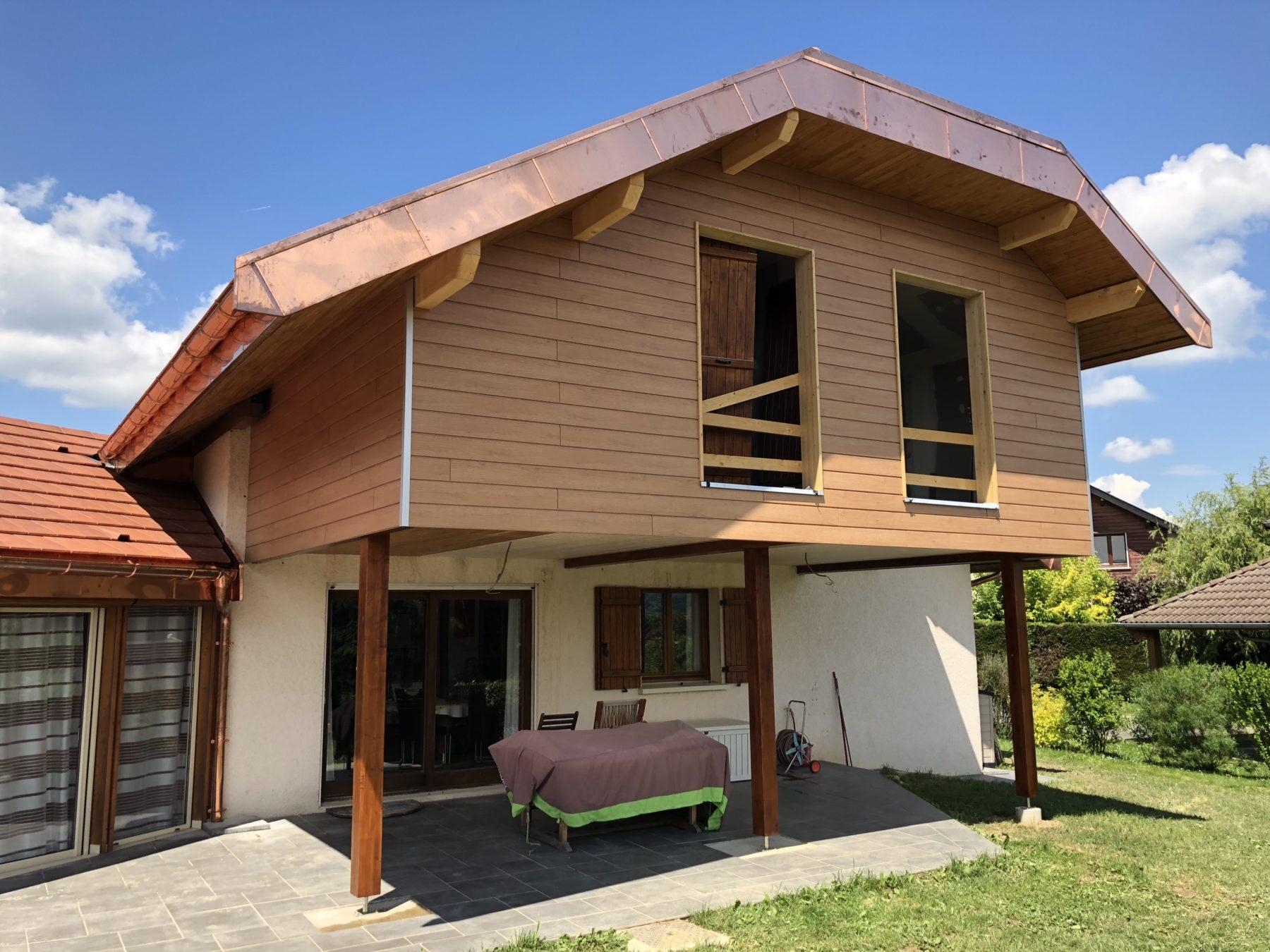 Rénovation Extension d'une maison à Metz-Tessy