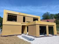 Maison ossature bois à Archamps