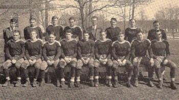 The 1930 Blue and White gridders