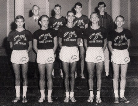 The 1964 Blue and White   Ogden (front row, 3rd from left) & Randall (front row, 2nd from right)