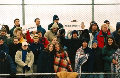 The Bears had plenty of support at Mt. Sinai