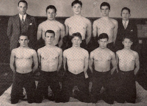 The Stony Brook matmen