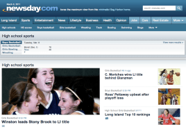 Our girls made the front page of Newsday.com