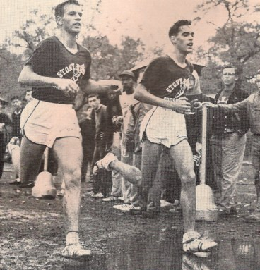 Randall (left) & Ogden in the St. John's Invite