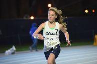 Sophia DiLavore in the sprint medley relay