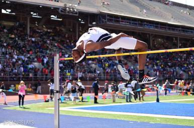 Etienne at the Penn Relays in April (PC: Penn Relays)