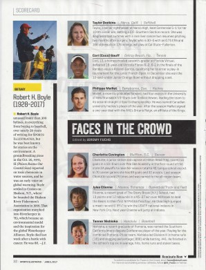 Etienne in Sports Illustrated