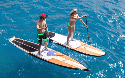 Top 10 Reasons a Stand Up Paddleboard is better than a kayak