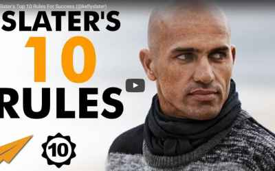 Kelly Slater's Top 10 Rules For Success