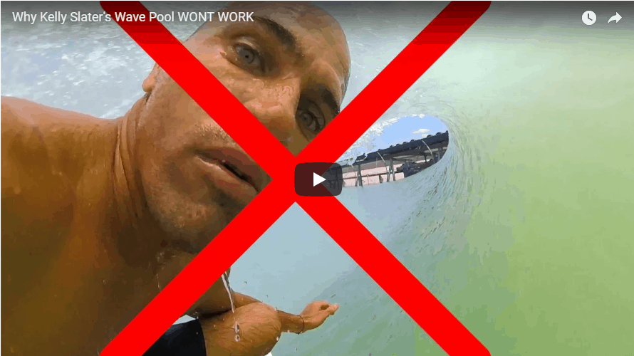 WHY KELLY'S WAVE POOLS WONT WORK !!!