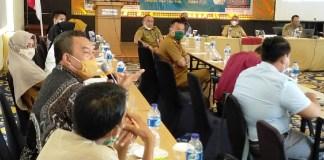 Dalam pertemuan Korwil (K)SBSI Sulteng Henri Hutabarat, SH.