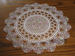 Ann Orr doily tatted by Patty Markley