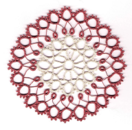 Faux Hairpin Tatting with Mary McCarthy She will demonstrate how to alter patterns to give the appearance of hairpin lace.