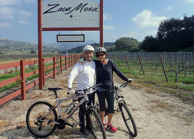 santa ynez vineyard bike tour