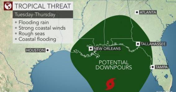 tropical threat