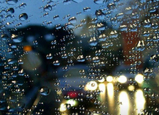 windswept rain