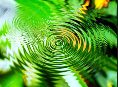 circles of water