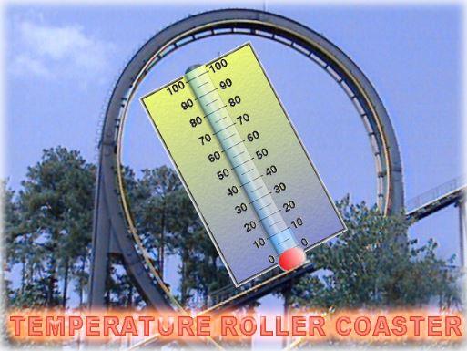 temp roller coaster