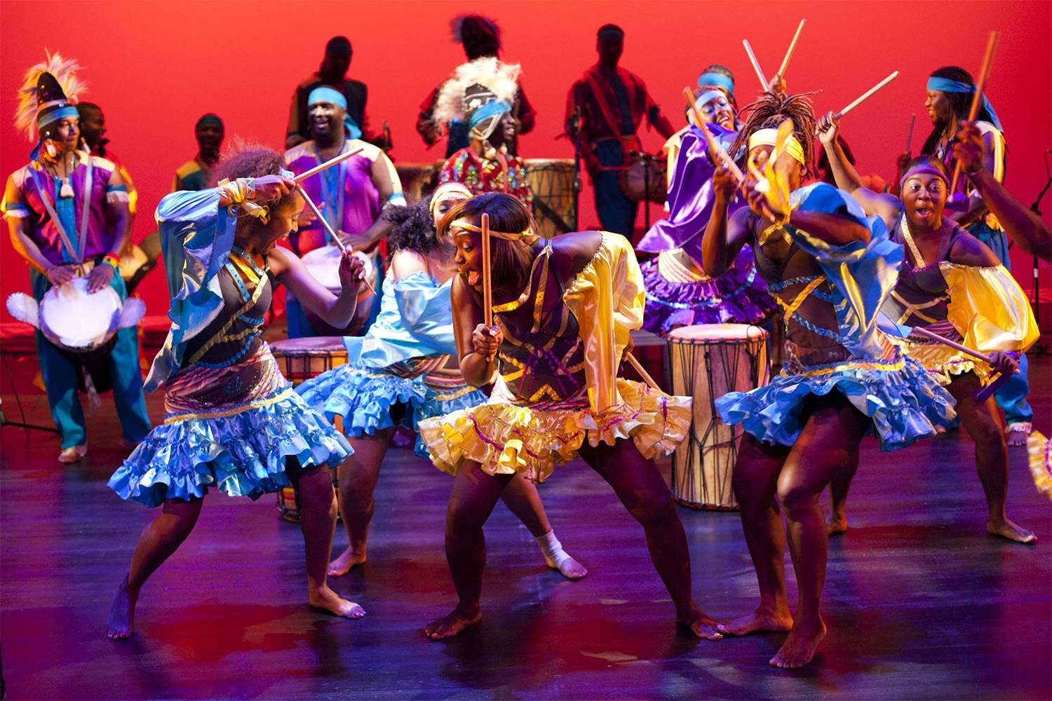 Tickets For Asase Yaa African American Dance Theatre In